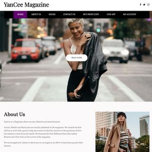 YanCee Magazine Website