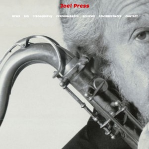 Joel Press Website