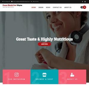 Power Blendz Fort Wayne Website