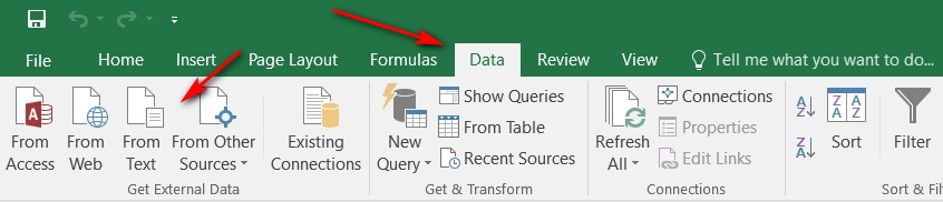 How do I open the csv Export File from the Forms (Precise, Awesome, and v2) feature using Microsoft Excel?