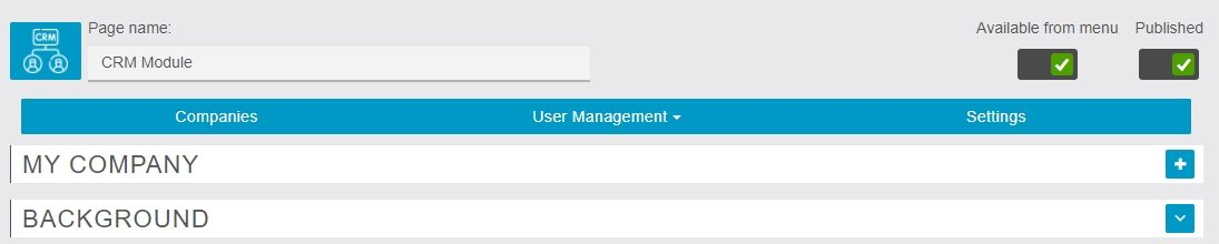 CRM (Data Manager)